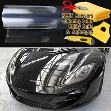 "24""x60"" Clear Bra Paint Protection Vinyl Film Wrap Transparent Car Paint Shield"