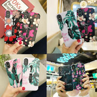 3D Pattern Shockproof Stand Ring Hard Case Cover For Apple iPhone XS 8 6s 7 Plus