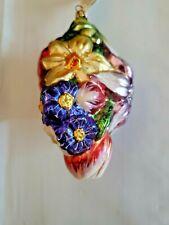 Slavic Treasures Flower Cluster Ii Ornament Original Tags and Box Mint