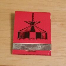 Vintage Matchbook The Tiffany Tavern Downtown Keene New Hampshire Lamson Street