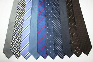 LOT OF 10 BOGGI  silk ties MADE IN ITALY. F18341