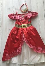 Disney Elena of Avalor Fancy Dress Costume Age 2-3 Years Complete Outfit