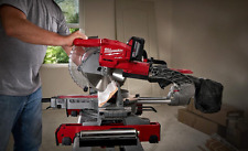 Cordless Milwaukee 18 Volt Compound Miter Saw Battery Operated Professional Tool