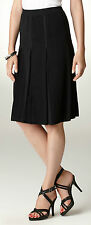 NWT MISOOK S INVERTED PLEATED PULL ON SKIRT 100% ACRYLIC SMALL  (4-6)