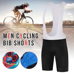 Men Bike Bicycle Cycling Jersey Bib Shorts Pant Set Jumpsuit Summer Uniform  yy