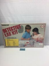NIB vintage 1989 Tasco Detective Lab Kit 80 different experiments Laboratory Toy