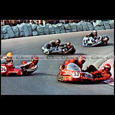 #CP19 TED JANSSEN & ERICH SMITZ Side-car Carte Postale Moto Motorcycle Postcard