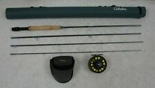 Cabelas Prestige 9' 4pc 5wt Fly Fishing Graphite Rod Combo with Reel & Case