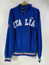 "Vtg. Original Italia Italy Team Embroidered Jacket Size Xxl Xl Blue - 23"" Chest"