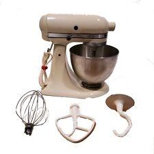 Vintage Kitchen Aid Mixer K45 Avocado 10 Speed Bowl 2 Attachment