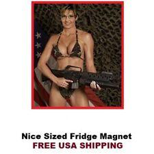178 - HOT! Sarah Palin Gun Refrigerator Toolbox Magnet