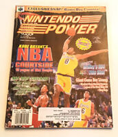 Nintendo Power Magazine Volume 107 Kobe Bryant's NBA Courtside With Poster