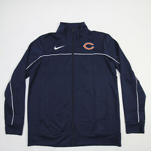 Chicago Bears Nike Dri-Fit Jacket Men's Navy New with Tags