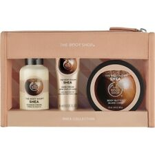 The Body Shop Shea Collection 3 Pc Gift Set Hand Cream Shower Cream Body Butter