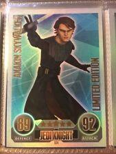 Topps FORCE ATTAX Star Wars CLONE WARS Serie 1 - Trading Cards Sammelkarten