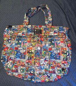 Ju Ju Be X Tokidoki Super Toki Print Tote Bag Super Be EUC