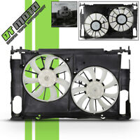NEW Dual Radiator & Condenser Cooling Fan Assembly For Toyota Rav4 TO3115177