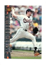 MIKE MUSSINA 1997 Pacific Silver Parallel Insert Baseball Card #26 NM Orioles