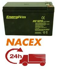 1 X BATERIA PLOMO 12v 7Ah ENERGIVM 12 V 7A MV127 / 24H urgente