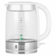 Russell Hobbs 21601-10 Illuminating Glass Kettle with 1.7L Capacity and 3000W