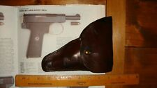 WW1 British webley Auto .32 Leather Holster .