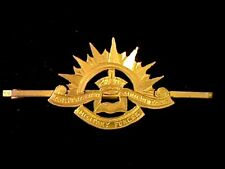 Australian Commonwealth military Forces Badge 9ct Gold Sweetheart Brooch WW1