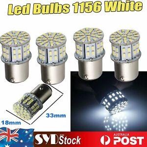 1156 BA15S 50Led 3014 Turn Signal Brake Reverse Tail Stop Lights Pack Of 4 White