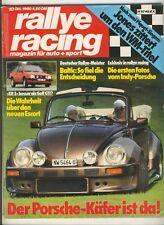 Rallye Racing 10/80 80/10 @ Albar VW Käfer Cabrio , Ford XR 3 + Poster