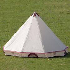 Skandika Comanche - Tente Tipi 8 personnes -sable-rouge