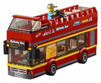 LEGO City Double Decker Open Top Sightseeing Bus Transport Train Layout 60197