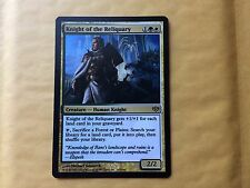 Misprint Knight of the Reliquary Conflux Dark-Printed Bold Ink MTG Magic Card