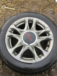 Fiat 500 Sport 15 inch Alloy Wheel 2008/2020