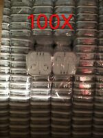 100x Wholesale Lot Headphones Earphones Earbuds Remote & Mic for Apple iPhone