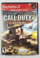Call Of Duty 2: Big Red One Special Edition PlayStation 2 PS2 - Complete CIB