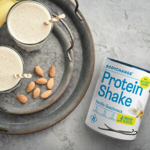 BodyChange Protein Shake (300g)- Vanille - natürlich, ohne Zucker - Eiweißshake