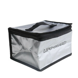 Lipo Fireproof Charging Bag Guard Pouch Protective Case 19.8x15x13.5cm