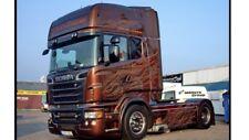 1:14 Tamiya Camión Scania Negro Ámbar Decal Sticker