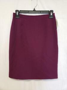 Tahari Womens Skirt Purple Size 0P