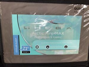 Brand new Sheex Artic Aire Max Performance sheet set in Queen Charcoal MSRP$199