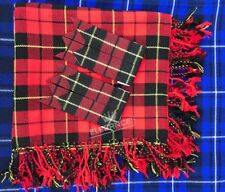 "New Kilt Fly Plaid Wallace Tartan 48""X48""/Fly Plaid Wallace Tartan + Flashes"