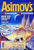 Vtg Isaac Asimov's Science Fiction Magazine January 1995 Robert Reed m758