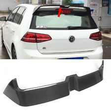 For Volkswagen VW Golf 7 VII MK7.5 GTI R20 Roof Spoiler GTI Carbon Fiber O Type