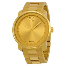 Movado Bold Champagne Dial Gold-tone Mens Watch 3600258