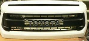 Toyota Tundra TRD PRO Front Grille AND Hood Bulge  White  FITS 2014-2017