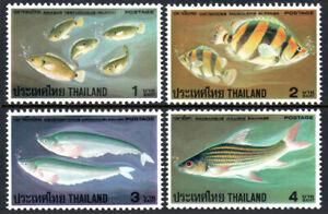 Thailand 849-852, MNH. Fish, 1978