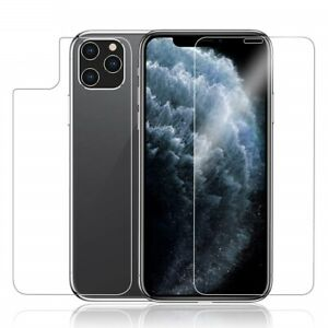 Front and Back Clear Tempered Glass Protector for iPhone 11/11 pro/11 pro max