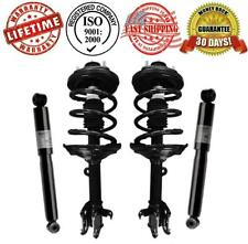 Front Complete Spring Struts and Rear Shocks for Acura MDX 2003-2006