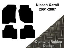Tailored 3mm Rubber Car Floor Mats To FIt Nissan X-Trail (2001-2007) Vehicles