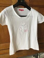 T Shirt Blanc Lulu Castagnette 16 Ans