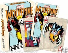 X-Men Wolverine Marvel Comics Playing Cards 52 Card Deck Brand New 52-248